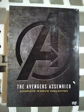 Avengers 1-4 (1 2 3 4) Dvd Complete 4 Movie Collection Infinity War Endgame New