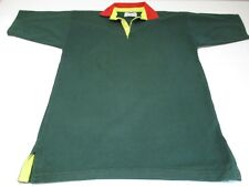 CHARLES TYRWHITT MANS SHORT SLEEVE GREEN COLLARED COTTON SHIRT CHEST 38 - 40""