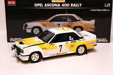 1:18 Sunstar Opel Ascona 400 Swedish rally 1980 #7 New en Premium-modelcars