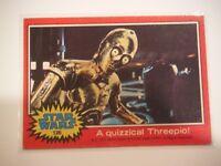 Star Wars Series 2 (Red) Topps 1977 Trading Card # 126 A Quizzical Threepio