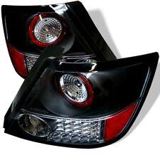 Scion 05-10 tC Black LED Clear LED Rear Tail Lights Lamp Set Base Spec Coupe