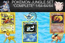 Pokemon Jungle Set Complete