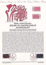 Document Philatélique Timbre 1er Jour : 05/12/ 1981 - Croix Rouge Sacré Coeur