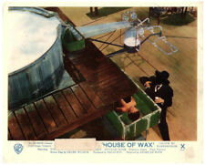 HOUSE OF WAX Original British Lobby Card Vincent Price in laboratory 1953