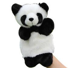 Panda Hand Puppet Plush Doll Kids Bedtime Story Telling Educational Toys