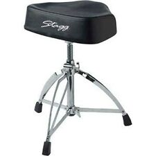 Stagg Pro Drum Throne Dt-220rm Double Braced Heavy Saddle (Stool)  sc 1 st  eBay & Stagg Drum Stools | eBay islam-shia.org