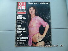 CINE REVUE N°43 23/10 1975 JANE BIRKIN PAUL NEWMAN IDA LUPINO JAMES CAAN     G70