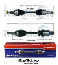 For Chevy Equinox Pontiac Torrent AWD/FWD Pair Front CV Axle Shafts SurTrack Set