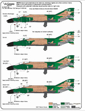 Warbird 497th TFS, Nite Owls, F-4D Black Bottom Phantom Decals 1/32 009