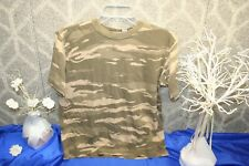 Gap Kids Boy's Brown Green Camouflage T-Shirt Size Large school play casual hunt