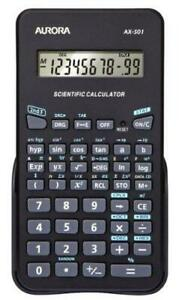 Aurora AX-501 Scientific Calculator - Black