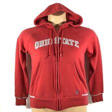 Vintage Nike Team Ohio State Buckeyes Full Zip Hoodie Sweatshirt Womens Small S