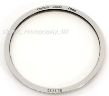 Canon SL39 3C 40mm Low Prifile Filter for Canon Lens 50mm f:1.8 Canon Lens 28mm