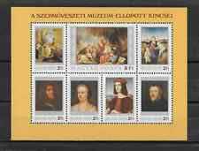 HUNGARY - 1984 - Stolen Paintings from the Museum of Fine Art - Sc. #2839 - MNH