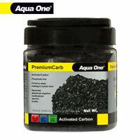 Aqua One Activated Carbon Aquarium Fish Tank Filter Media PremiumCarb 450g