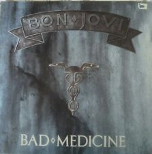 "BON JOVIRare Bad Medicine/12"" record incl.2 live songs."