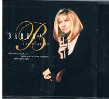 Barbra The Concert- Live at Madison Square Garden New York City 2 CD Set