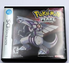 Pokemon Pearl Version Nintendo DS Game NDS Lite DSi 2DS 3DS XL a F01