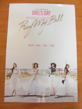 GIRL'S DAY - 2nd Love (Group Ver.) [OFFICIAL] POSTER *NEW* K-POP RING MY BELL