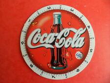 Convertisseur monnaie Francs Euro - 2 disques carton - boisson coca cola