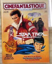 Cinefantastique Magazine volume 17 #3/#4 (1987) Star Trek Evil Dead Ii (double)