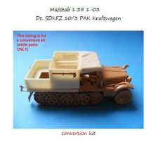 MGM 01-03 1/35 Resin CONVERSION KIT for German. SDKFZ 10/3 PAK Kraftwagen