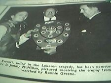 news item 1970 speedway memory gary everett trophy jimmy mcmillan