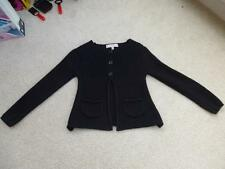 M&S CARDIGAN Black Knitted Cardi 5-6yrs Next Summer Holiday 100% Cotton Marks