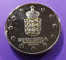 Médaille de table sur l'Europe des 12 (Danemark)