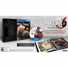"YAKUZA 6: THE SONG OF LIFE ""ESSENCE OF ART EDITION"" (PLAYSTATION 4) PS4 - NEW"