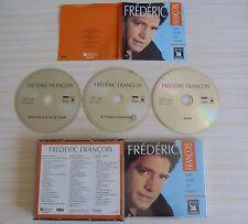 RARE BOX 3 CD ALBUM BEST OF FREDERIC FRANCOIS UNE VOIX UN COEUR 60 TITRES 2001