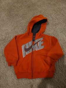 Adorable! Boys Nike Zip Hoodie- Size 1yr To 18mths