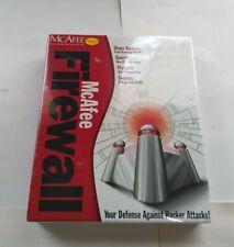 McAfee Firewall Package Windows 95/98 Defense Against Hacker Attacks