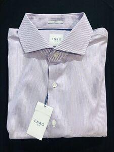 17.5 37/38 Enro Men's Dress Shirt, Point collar. NWT $89.50