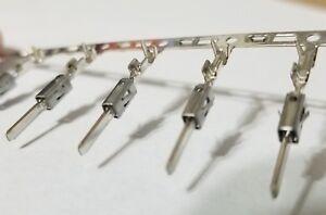 50pcs TE Connectivity FLACHSTECKER1,6X0,6 20-24AWG Crimp Male Pins 964265-2 NEW