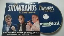 THE SHOWBANDS COLLECTION 10 TK CD IRISH PROMO RED HURLEY DICKIE ROCK EUROVISION