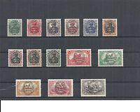 Allenstein 1920, komplette Sätze/Einzelmarken aus MiNrn 1 - 28 **, postfrisch **