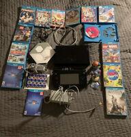 Nintendo WII U  32GB Console MEGA BUNDLE- Disney infinity- Games - TESTED