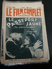 Yellow Ticket(Le Passeport Jaune)Laurence Olivier Le Film Complet(FR) 5/16/1933