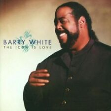 BARRY WHITE - THE ICON IS LOVE  CD  11 TRACKS INTERNATIONAL POP  NEW!