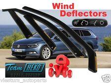 VW PASSAT B8 4D 2014 - ESTATE / WAGON / COMBI  Wind deflectors  4.pc HEKO 31003