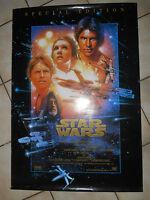 Ancienne ? Affiche Poster Cinéma Film Star Wars Guerre Etoiles Spécial Edition