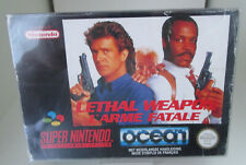 Lethal Weapon (Nintendo SNES) PAL OVP/Modul/Anleitung
