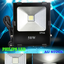 50W LED Outdoor Flood Spotlight Lamp Work WASH light WATERPROOF Philips lamp