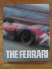 THE FERRARI 1973 Hard Cover Book by Gianni Rogliatti (25 Years of My Work ENZO)