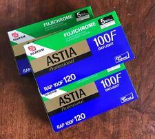 Fujichrome Professional Astia 100f 120 Film - 1 Pro Pack / 5 Rolls - Expired NOS