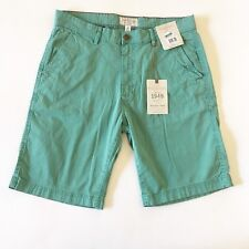 New WEATHERPROOF Vintage 1948 Mens Shorts Size 32 Green Chinos NWT Orig $59