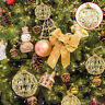 6Pcs Christmas Tree Xmas Balls Decoration Baubles Party Wedding Ornament Da