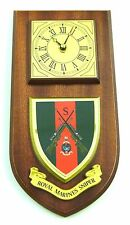 ROYAL MARINE COMMANDO SNIPER HAND MADE REGIMENTAL LICENSED CORPS WALL CLOCK