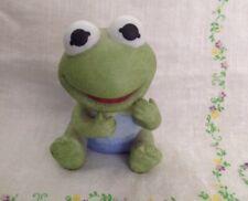 1983 Enesco Henson Baby Kermie Kermit the Frog Figurine Muppet Babies